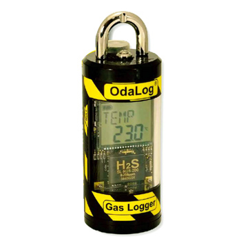 硫化水素ガス濃度ロガー(オダログロガー:50ppm) SL-H2S-50