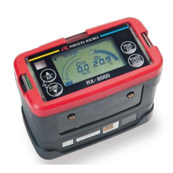 可燃性ガス検知器 ポータブルガスモニター RX-8000(可燃性ガス、酸素)